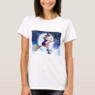 Camiseta Personagem de desenho animado do Dia das Bruxas da