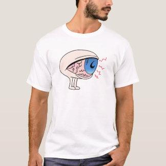Camiseta Personagem de desenho animado do olho seco