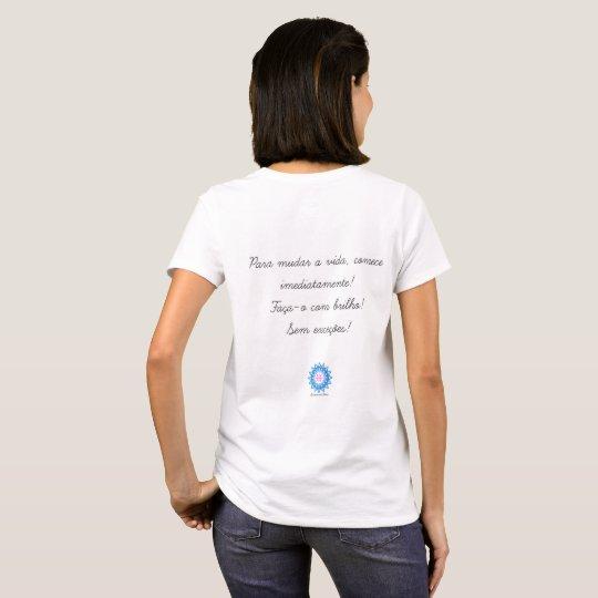 Camiseta Personalizada Mandala do Equilíbrio