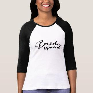 Camiseta Personalizado, pelotão da noiva, dama de honra