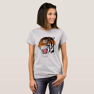 Camiseta Personalizado \ \ tigre rujir