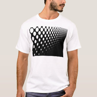 Camiseta Perspectiva da reticulação