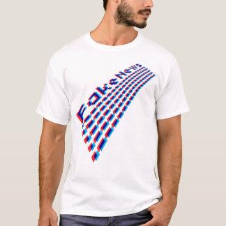 Camiseta Perspectiva falsificada do encabeçamento da