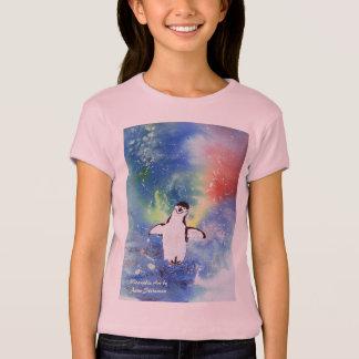 Camiseta Pés felizes dos pinguins