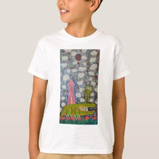 Camiseta Pés fritados da galinha