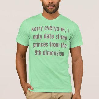 Camiseta pesaroso