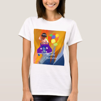 Camiseta Pesaroso eu esqueci seu aniversário