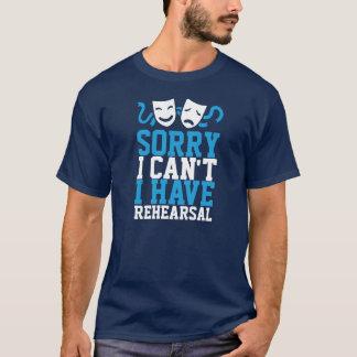 Camiseta Pesaroso eu não posso mim ter o ensaio (a vida do