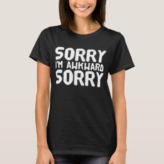 Camiseta Pesaroso eu sou pesaroso inábil