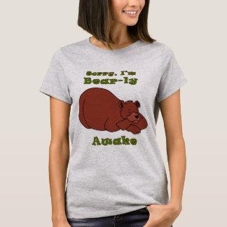 Camiseta Pesaroso, eu sou Urso-LY acordada