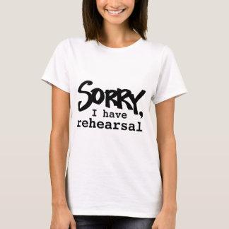 Camiseta Pesaroso, eu tenho o t-shirt do ensaio