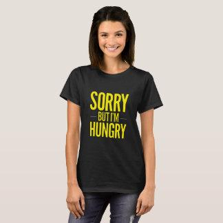 Camiseta Pesaroso mas mim estão com fome