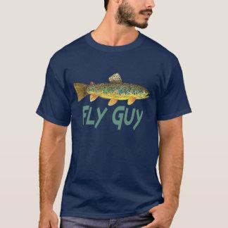 Camiseta Pesca com mosca da truta