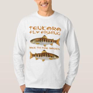 Camiseta Pesca com mosca de Tenkara