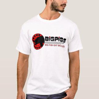 Camiseta Pesca com mosca grande dos porcos