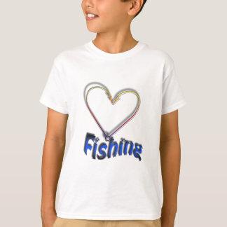 Camiseta pesca do amor