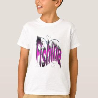 Camiseta pesca do coração