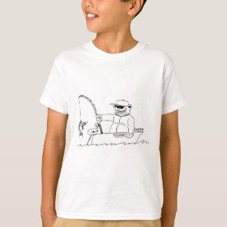 Camiseta Pesca do urso