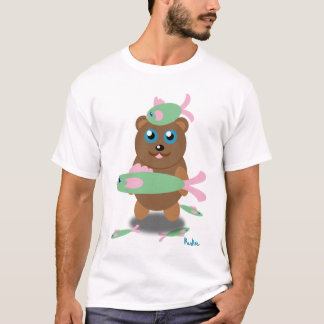 Camiseta pesca do urso