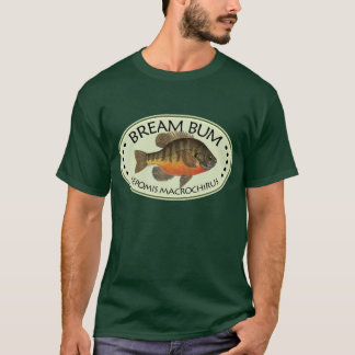 Camiseta Pesca do vagabundo da brema