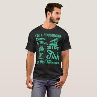 Camiseta Pesca dos peixes do Roughneck no Tshirt do fim de