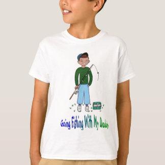 Camiseta Pesca indo com pai