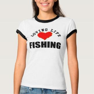 Camiseta Pesca Loving da vida