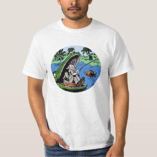 Camiseta Pesca no jacaré