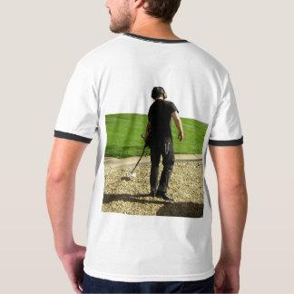 Camiseta Pescador da sujeira - detecção do metal