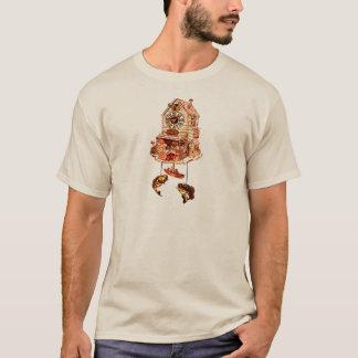 Camiseta Pescando o pulso de disparo de cuco do alojamento