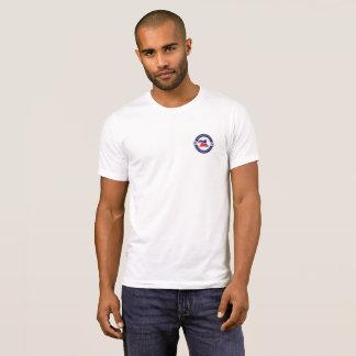 Camiseta Pescoço de grupo T dos homens