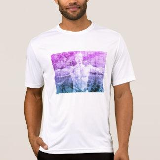 Camiseta Pesquisa da ciência como um conceito para a