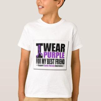 Camiseta Pesquisa da fibrose cística do apoio