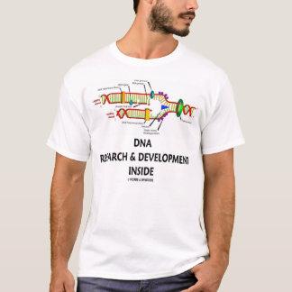 Camiseta Pesquisa & desenvolvimento do ADN dentro da