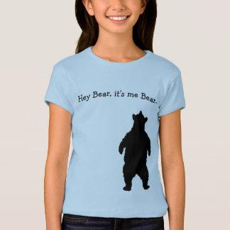 Camiseta Pesquisador do urso dos jovens