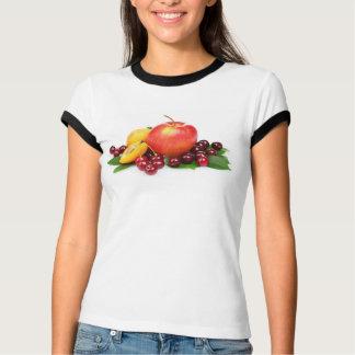 Camiseta Pêssego Apple da cereja