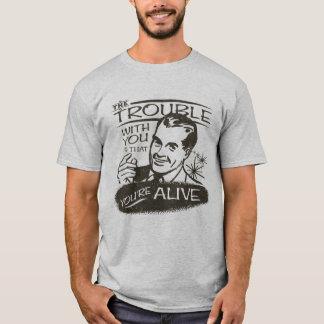 Camiseta Pessimista engraçado