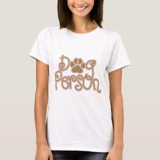 Camiseta Pessoa do cão
