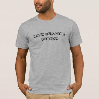 Camiseta PESSOA PRINCIPAL do APOIO - personalizada