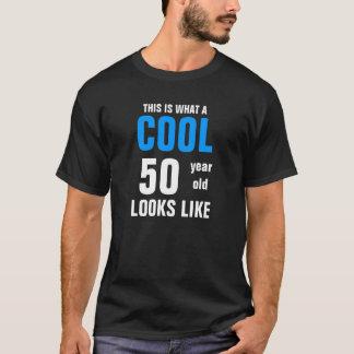 Camiseta Pessoas de 50 anos