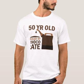 Camiseta Pessoas de 50 anos abastecidas pelo chocolate