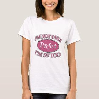 Camiseta Pessoas de 55 anos perfeitas