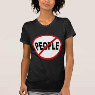 Camiseta Pessoas de pessoas de /No do ódio permitidas a