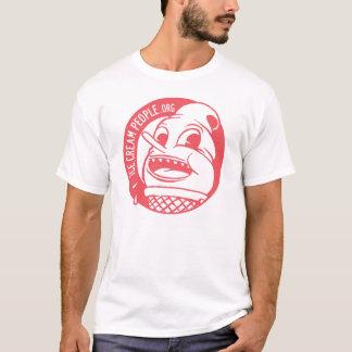 """Camiseta Pessoas do logotipo """"retro """" do sorvete"""
