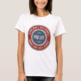 Camiseta Pessoas do matar dos abortos