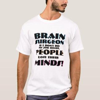 Camiseta Pessoas do neurocirurgião do cirurgião de cérebro