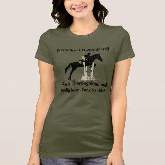 Camiseta Pessoas engraçadas do humor do cavalo do
