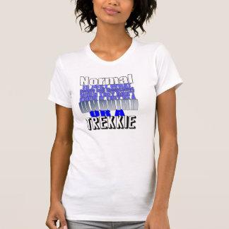 Camiseta pessoas normais da camisola de alças
