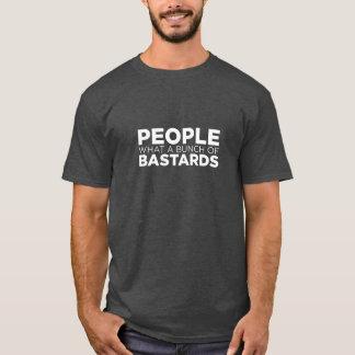 Camiseta Pessoas que grupo dos bastardos