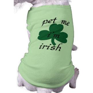 Camiseta pet me irlandês do i'am